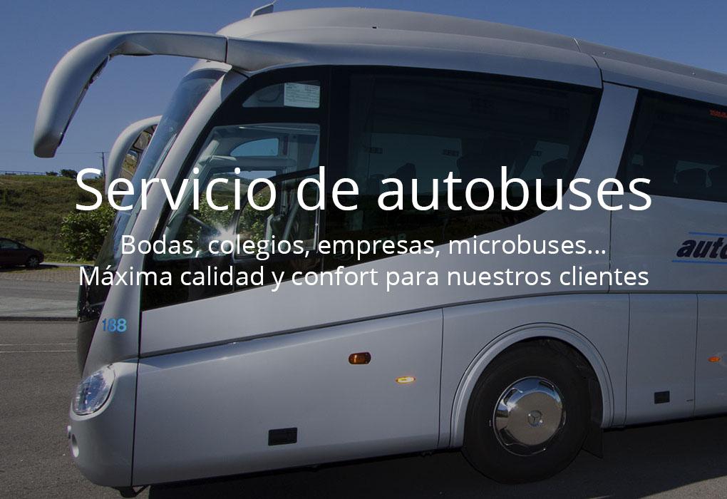 Servicio de autobuses