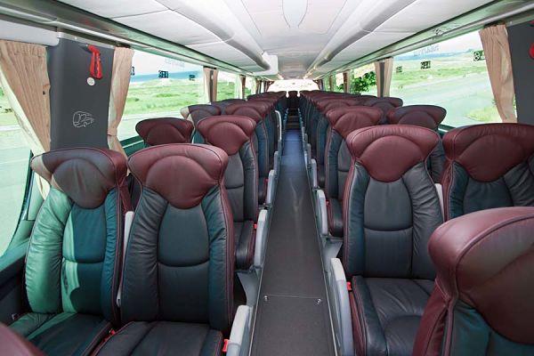 Cuánto cuesta alquilar un bus para 40 personas en A Coruña provincia