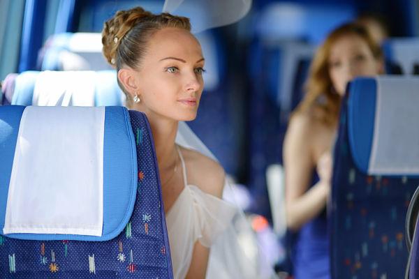 Alquiler de autobuses para bodas en A Coruña